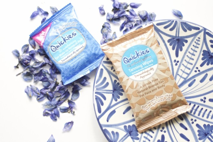Made From Beauty The Quickies Eye Makeup Remover Pads and Tanning Wipes