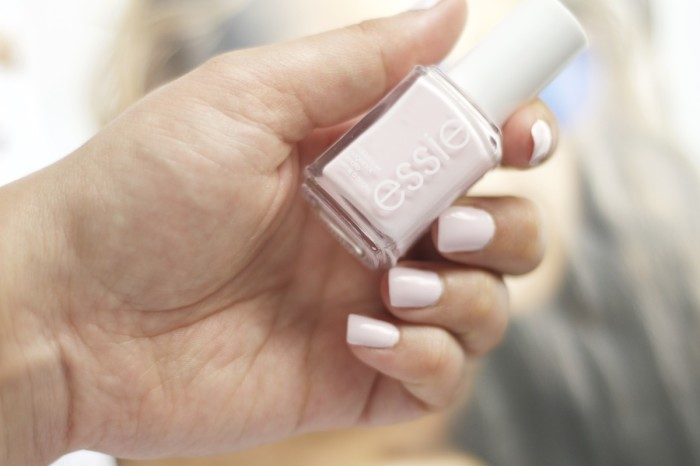 Made From Beauty Essie Nail Polish Fiji on Nails
