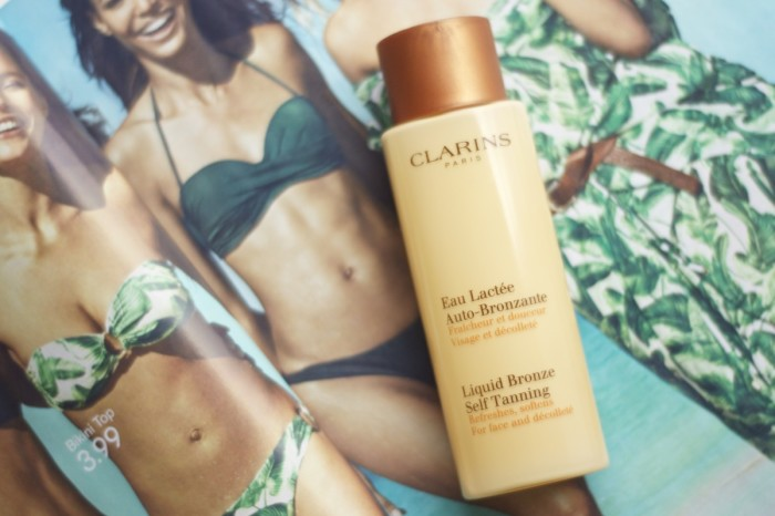 Made From Beauty The Clarins Liquid Bronze Self Tanning for Face and Décolleté