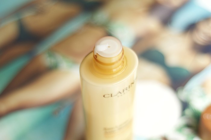 Made From Beauty The Clarins Liquid Bronze Self Tanning for Face and Décolleté Close Up