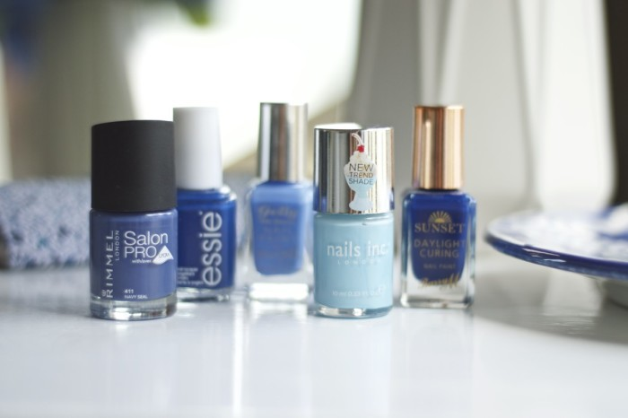 Made From Beauty- Top Five Blue Polishes- Cover