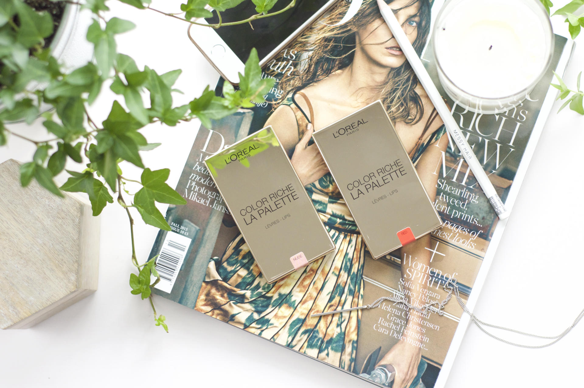 Made From Beauty L'Oréal Color Riche Lip Palettes Review