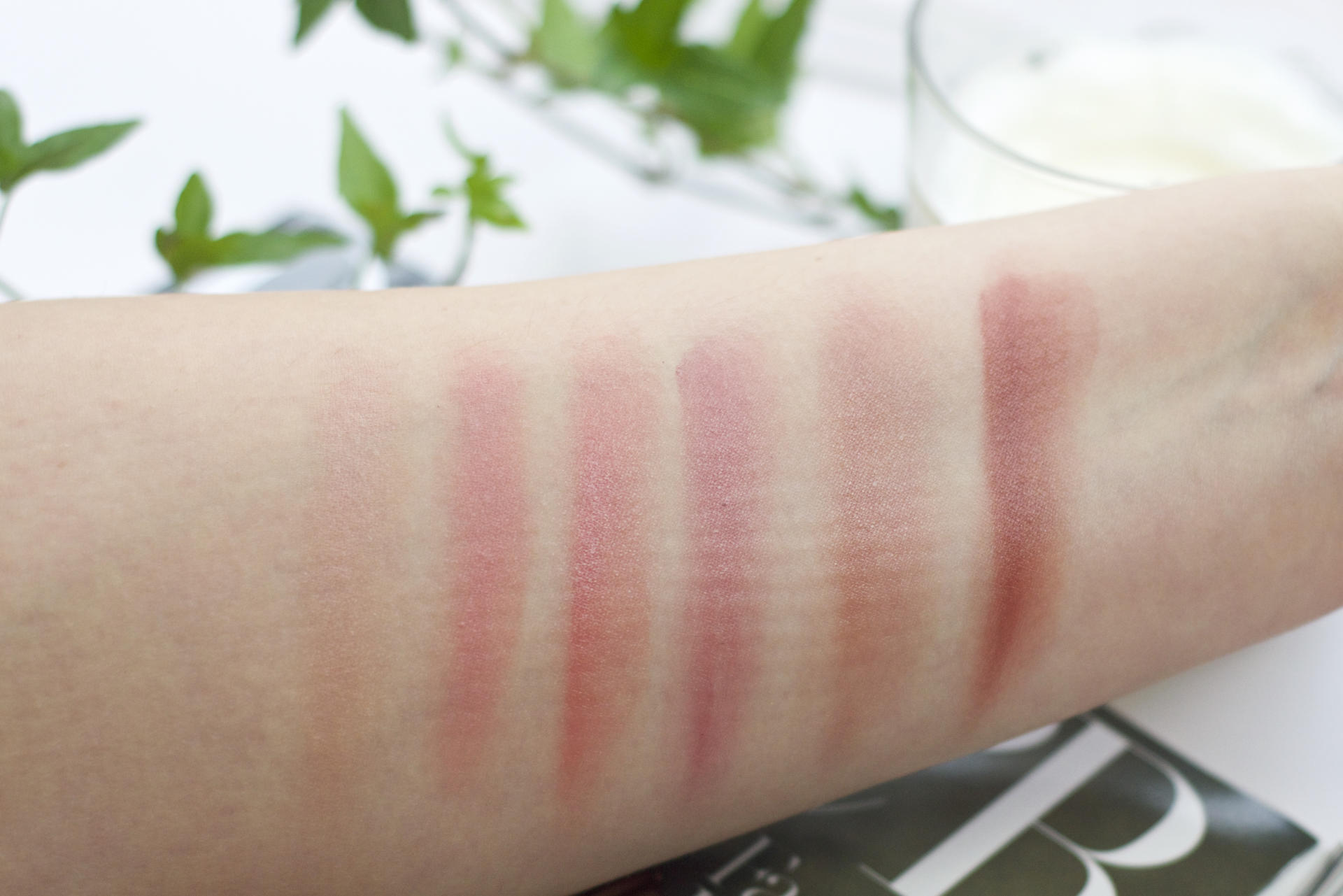 Made From Beauty L'Oréal Color Riche Lip Palette Nude Swatches