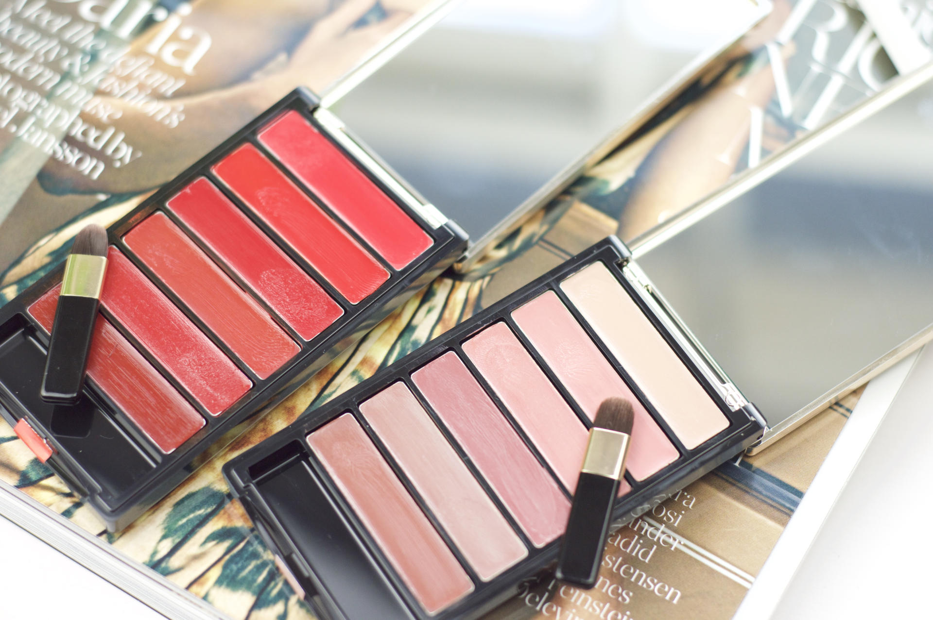 Made From Beauty L'Oréal Color Riche Lip Palettes Brush