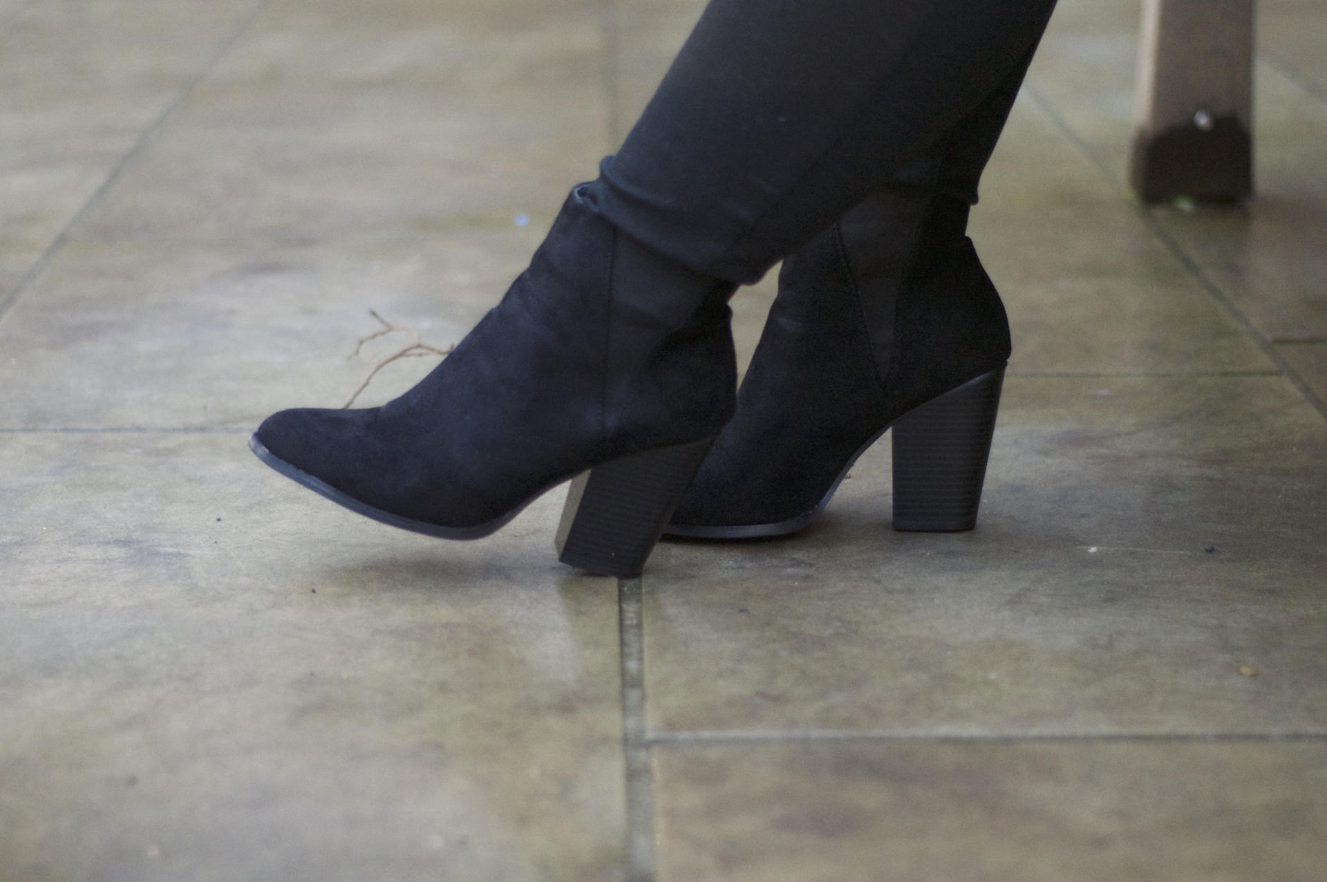 Made From Beauty New Look Black Ankle Boots