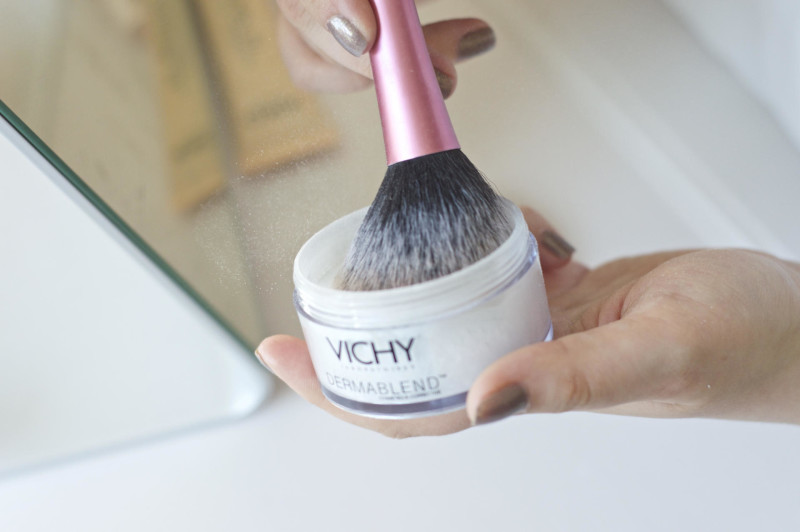 Made From Beauty Getaway Makeup Vichy Dermablend Setting Powder