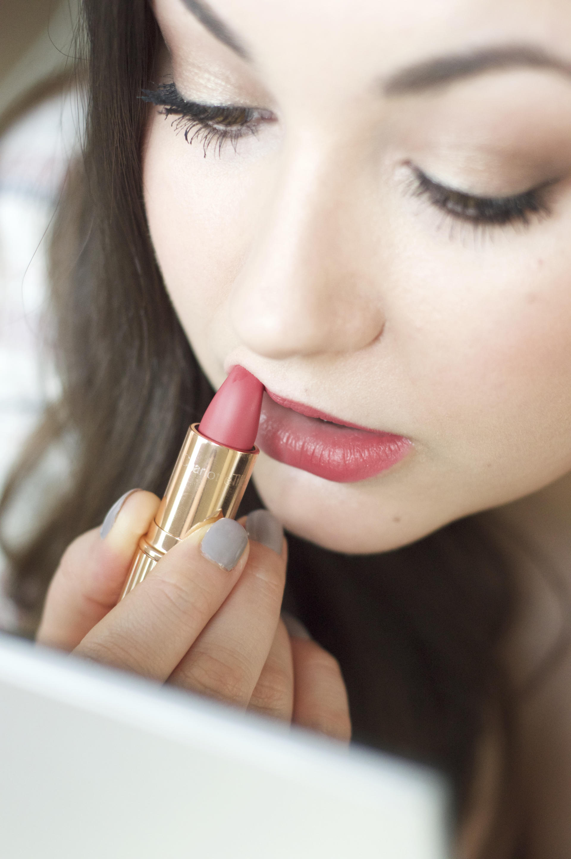 Made From Beauty Charlotte Tilbury Matte Revolution Lipstick in Amazing Grace Review