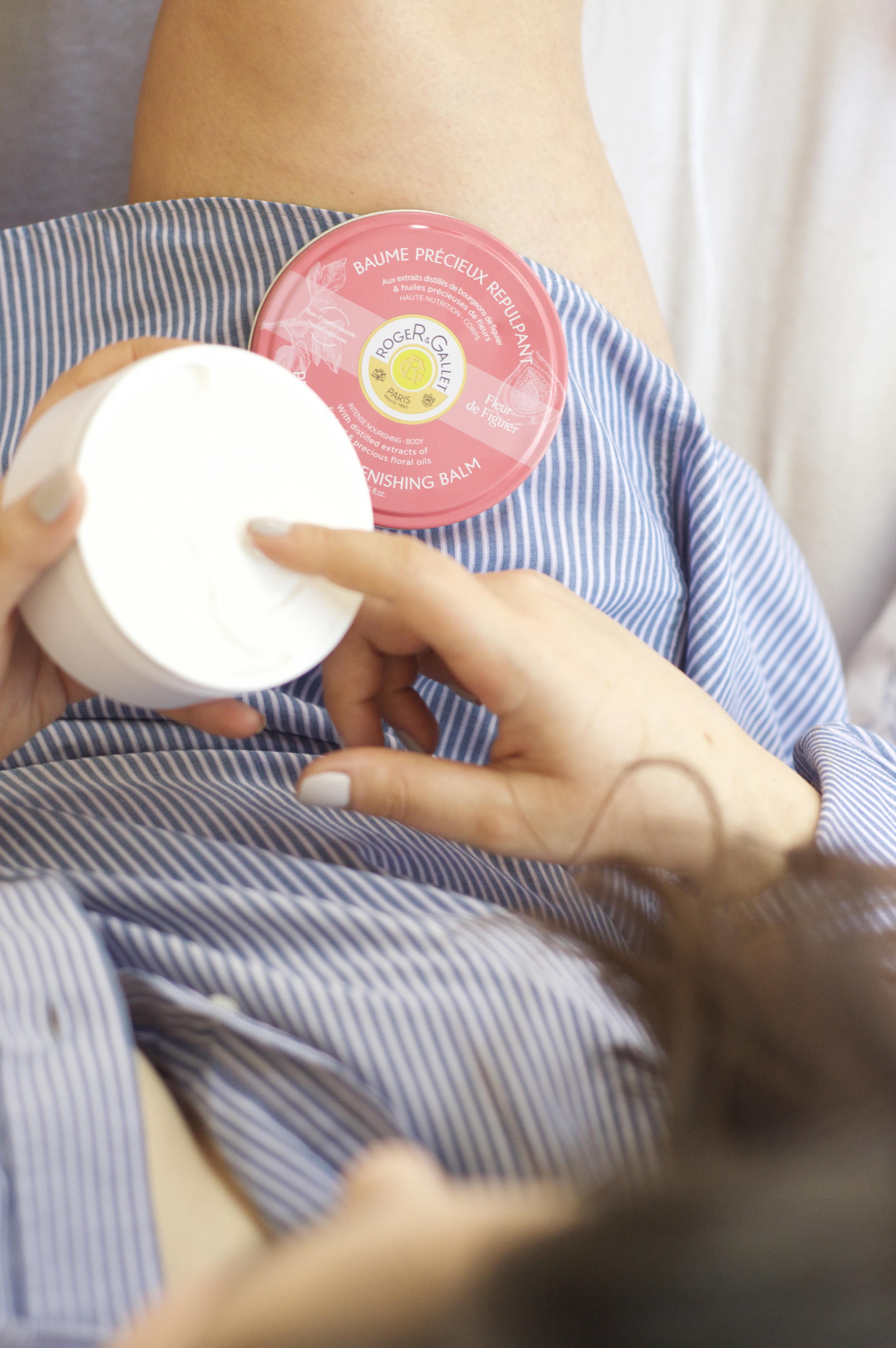 Made From Beauty using Roger & Gallet Fleur de Figuier Precious Replenishing Balm