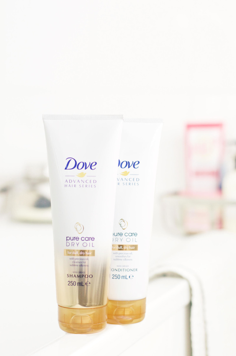 Made From Beauty Dove Pure Care Dry Oil Shampoo and Conditioner Review