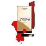 L'Oreal Colour Riche Lip Palette Rouge 02