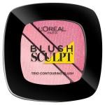 L'Oreal Paris Infallible Blush Sculpt Trio Soft Rosy 201