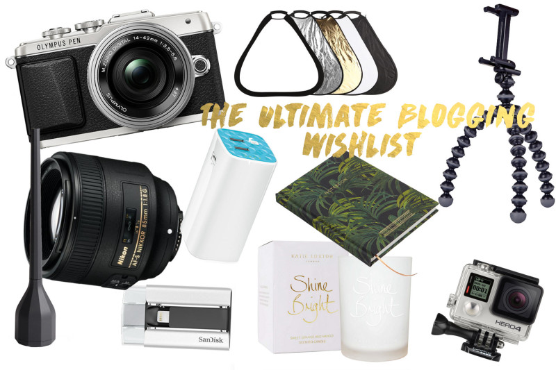 Made From Beauty The Ultimate Blogging Wishlist