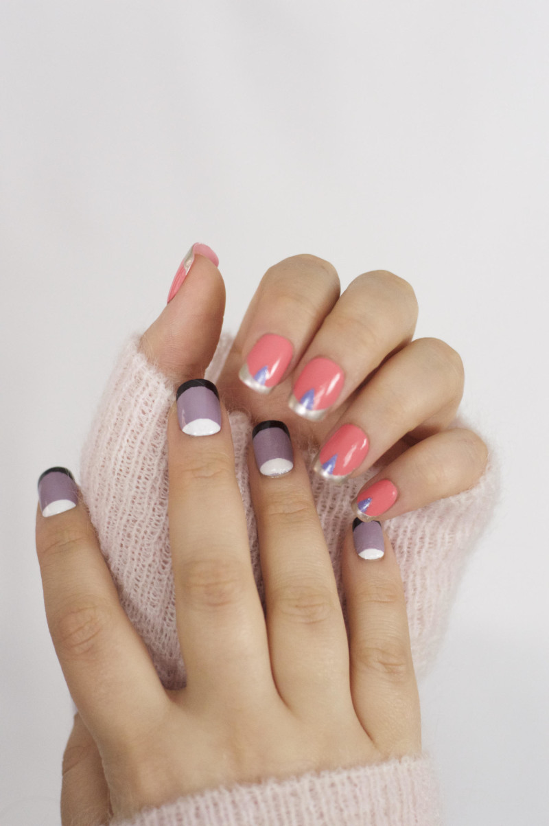 Made From Beauty Trying Out Spring Nail Art JustMyLook