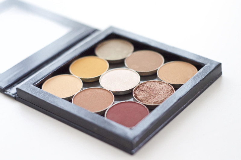 Made From Beauty Makeup Geek Eye Shadows & Z-Palette