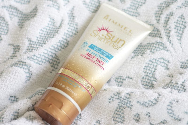 Rimmel Sunshimmer In-Shower Self Tan review