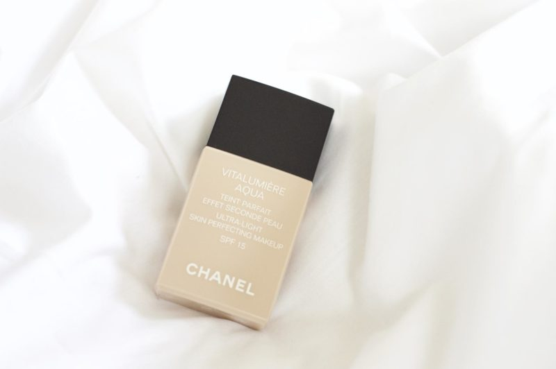 chanel vitalumi re aqua foundation made from beauty. Black Bedroom Furniture Sets. Home Design Ideas