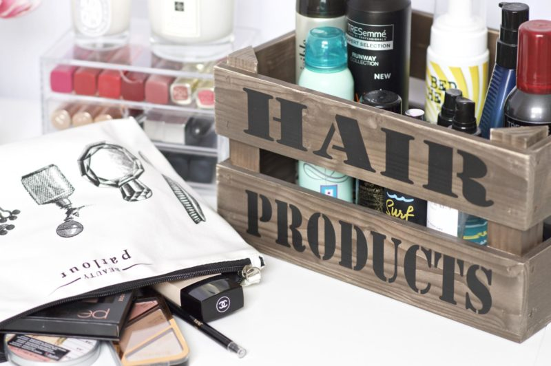 Personalised Beauty Storage with I Just Love It
