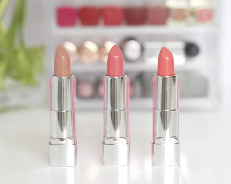The Rimmel Moisture Renew Sheer & Shine Lipsticks Review