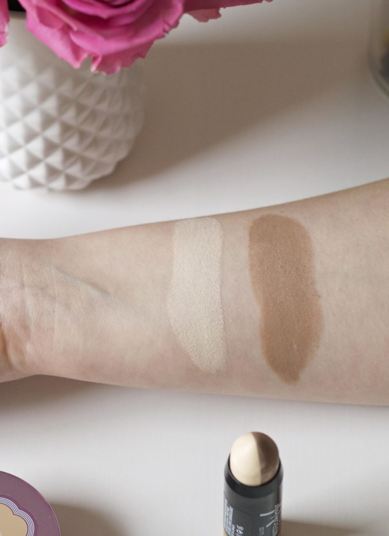 Maybelline Master Contour V Shape Stick Swatches