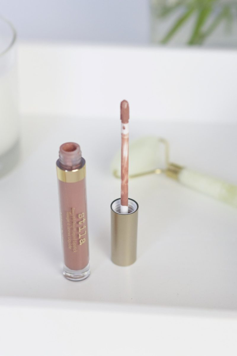 tila Stay All Daty Liquid Lipstick in Caramello Review