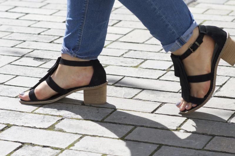 ASOS Fringe Sandal