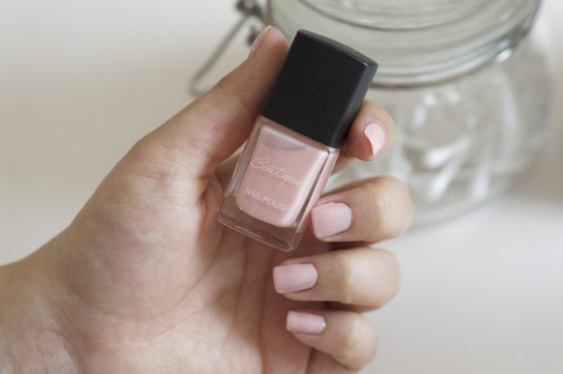 Sainsbury's Boutique Nail Varnishes Tickled Pink