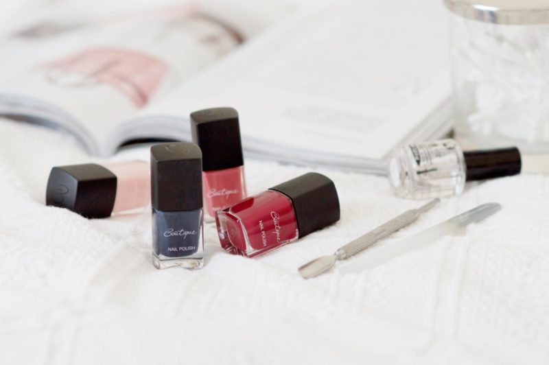 Sainsbury's Boutique Nail Varnishes Review