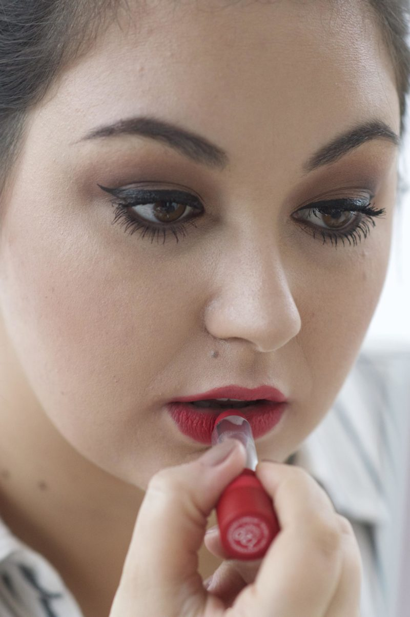 Made From Beauty Apply Rimmel Only 1 Matte Lipstick