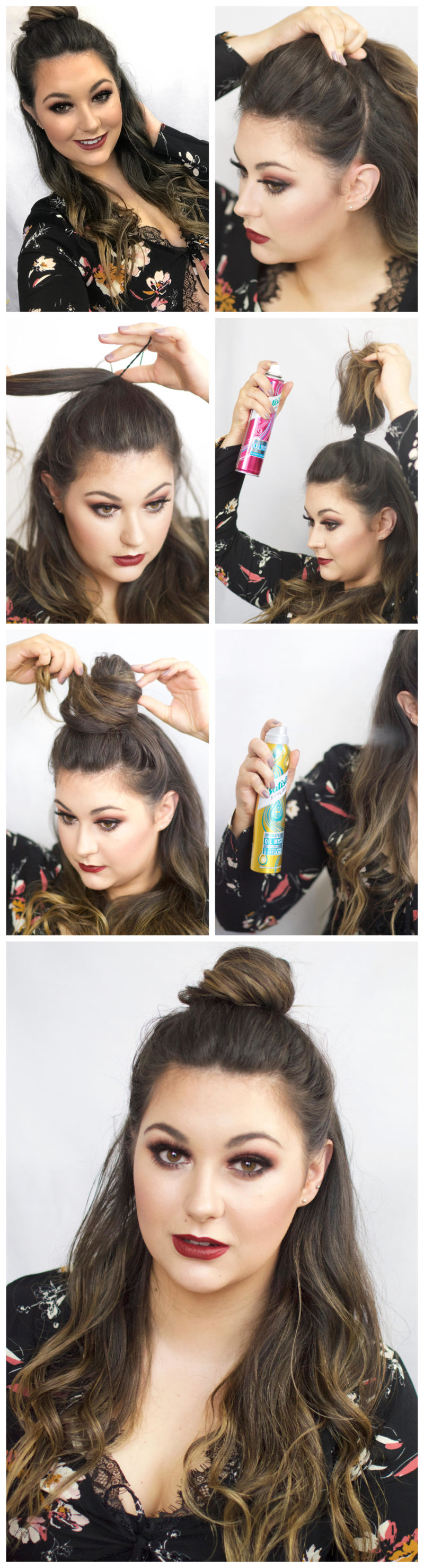 Valentines Day Hair with Batiste Look Three
