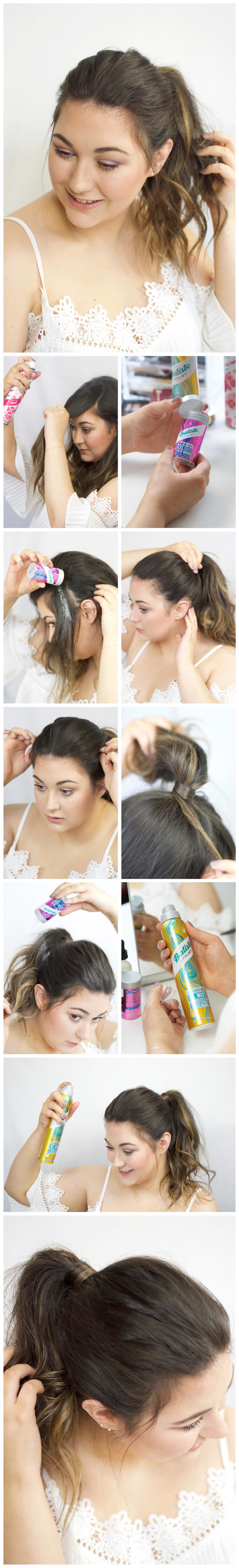 Valentines Day Hair with Batiste Look Two