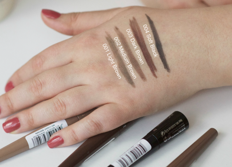 Rimmel Brow This Way Shake Filling Powders Swatches