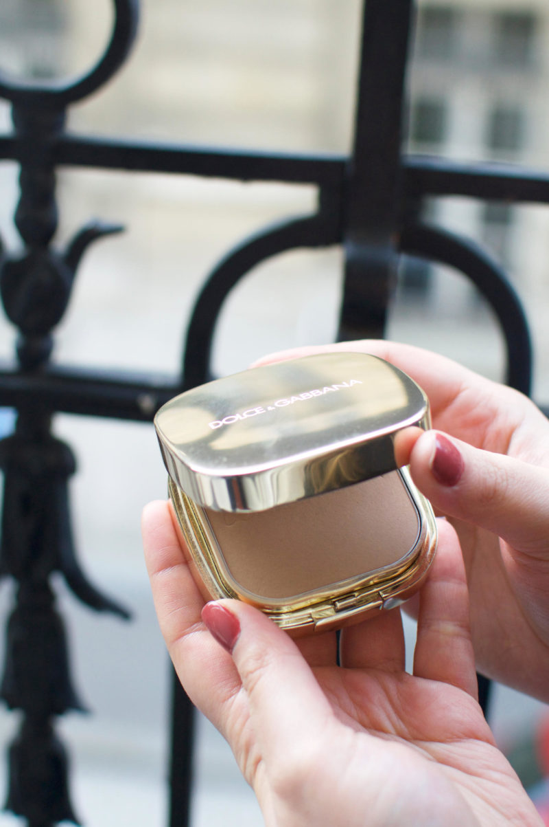 Dolce & Gabbana Perfect Finish Powder Foundation Review