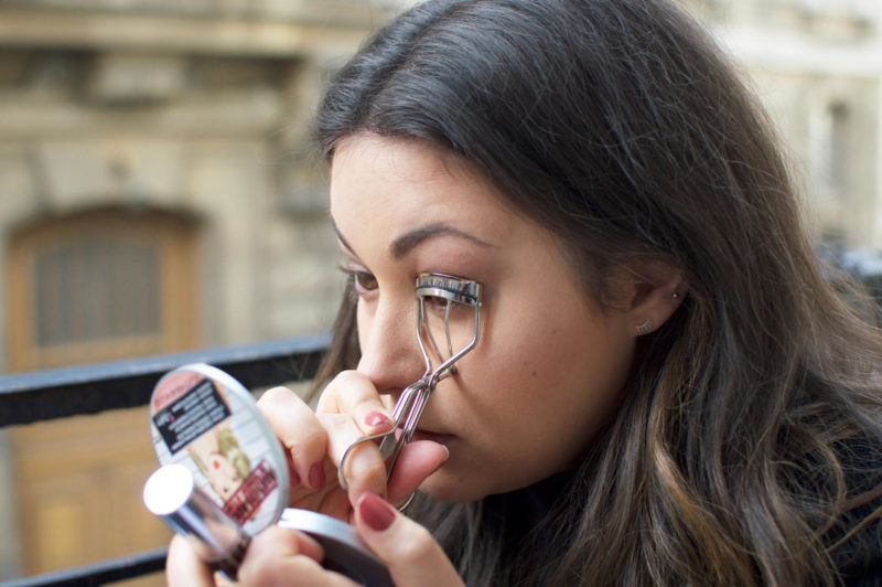 Paris Everyday Makeup Eyelash Curlers