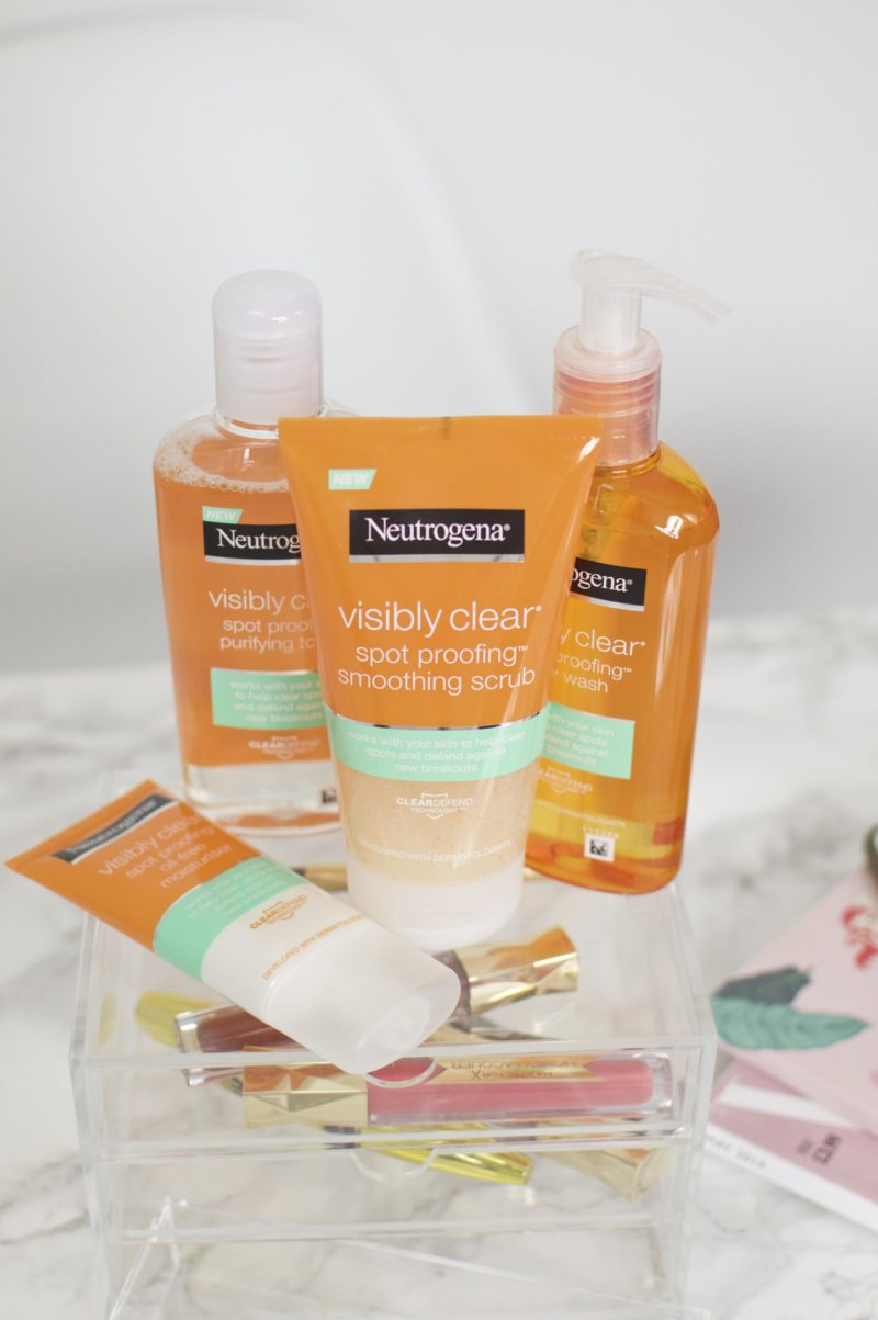 Neutrogena Visibly Clear Spot-Proofing Range Review