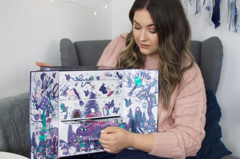 Look Fantastic Beauty Advent Calendar 2017 Opening