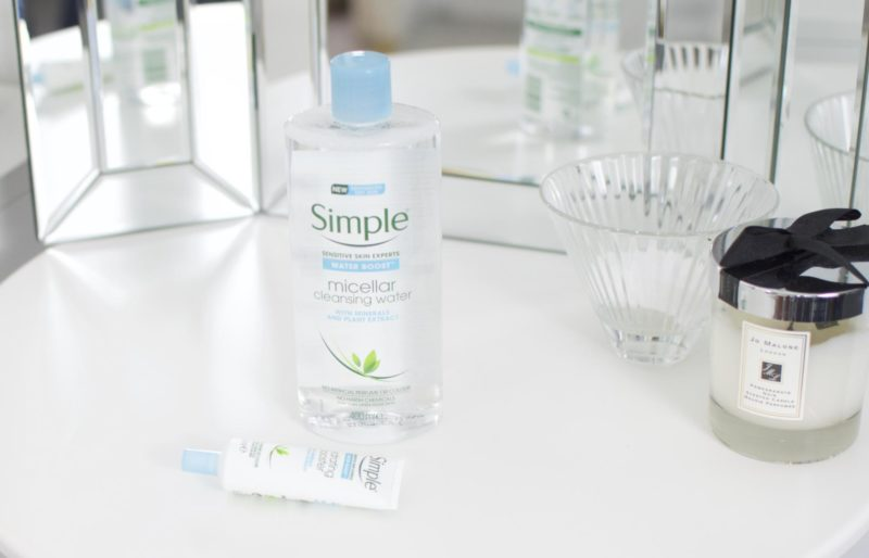 Simple's Water Boost Range First Impressions