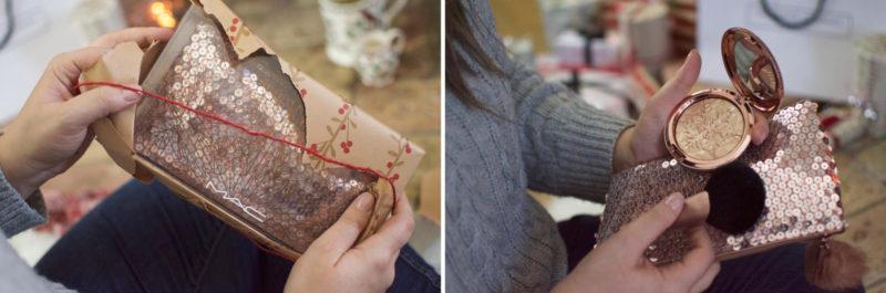 MAC Snowball Face Bag Christmas Gift Guide