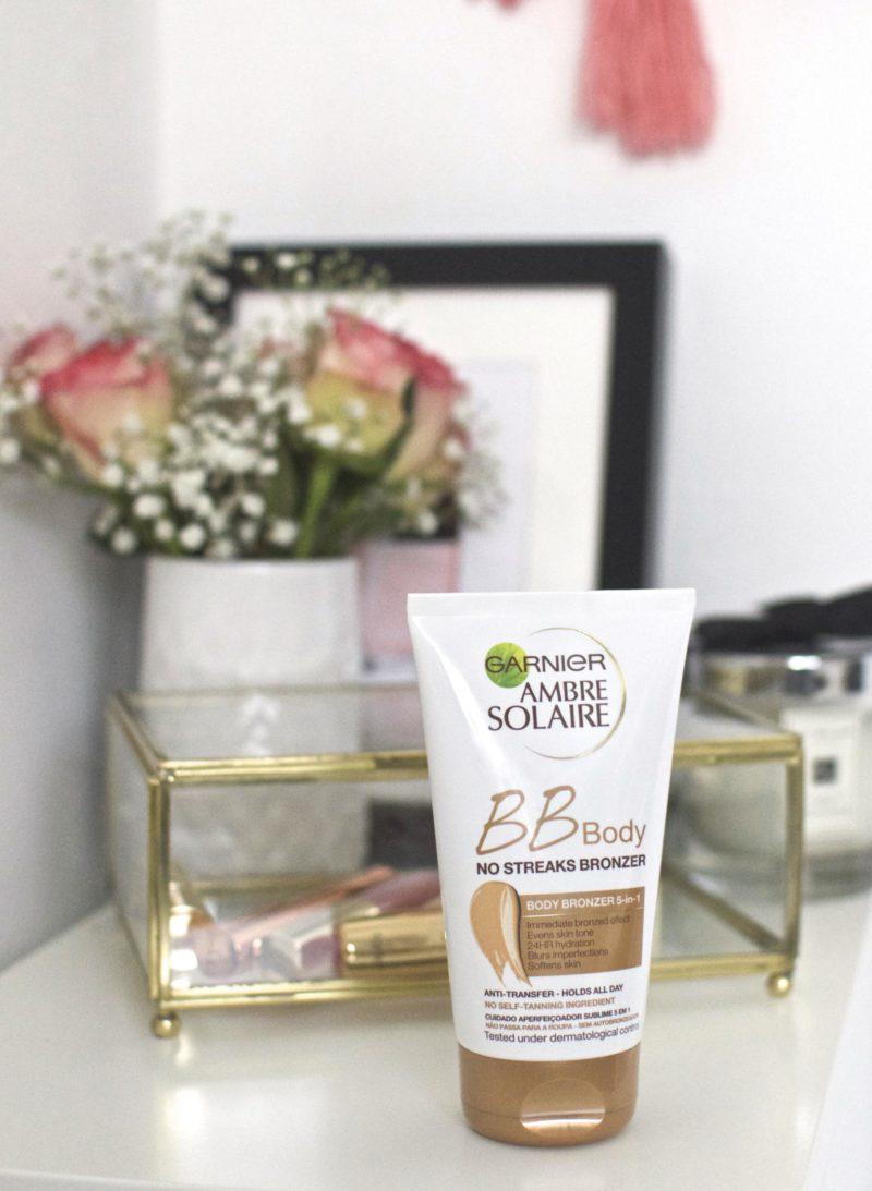 Garnier Ambre Solaire BB Body Wash Off Bronzer Review